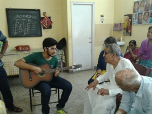 Music Jamming at daycare